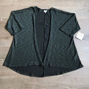NWT LuluRoe Lindsay Sweater Green Size Medium
